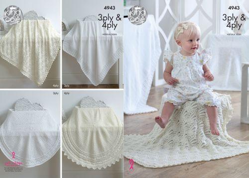 Square & Circular Shawls Knitting Pattern