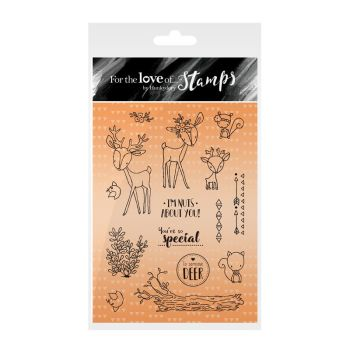 For the Love of Stamps - Deer Friends