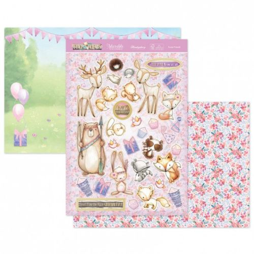 Forest Friends Topper Set