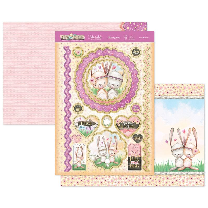 Love Bunnies Topper Set