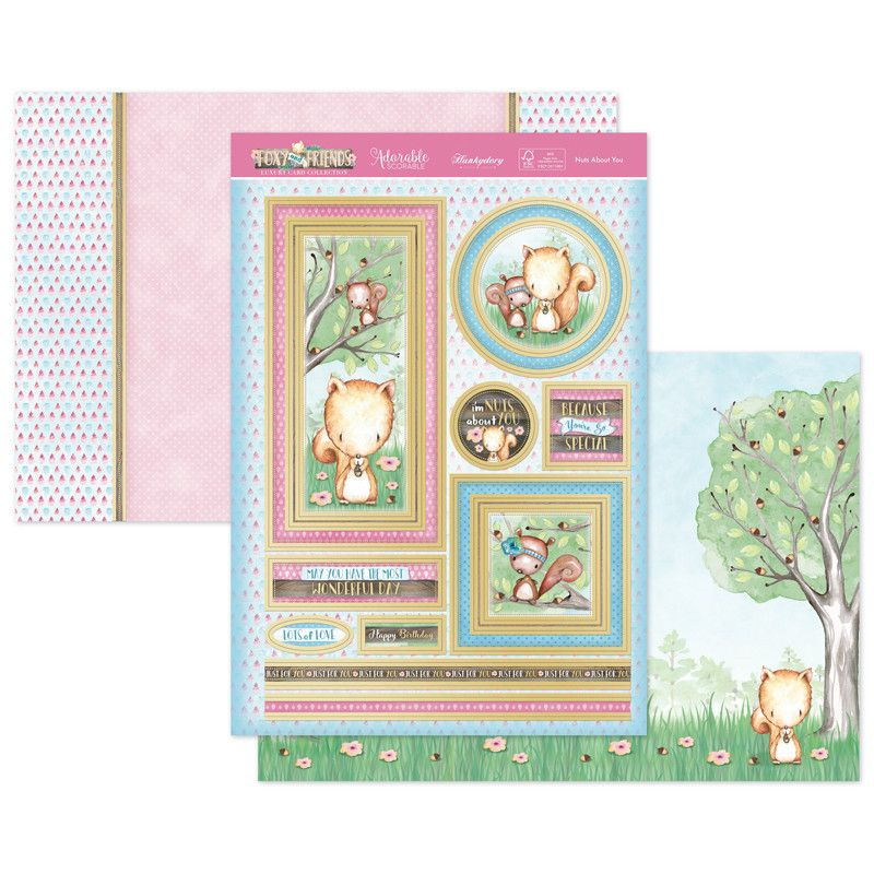 Nuts About You Topper Set