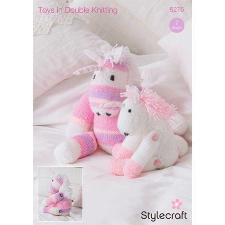 Unicorn Toys Knitting Pattern