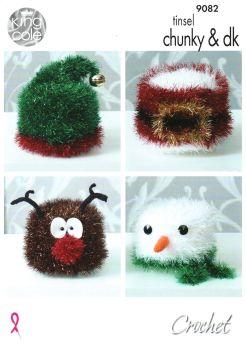 Christmas Toilet Roll Holders Crochet Pattern