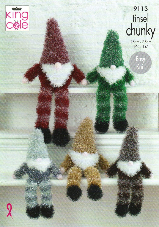 Tinsel Gnomes Knitting Pattern