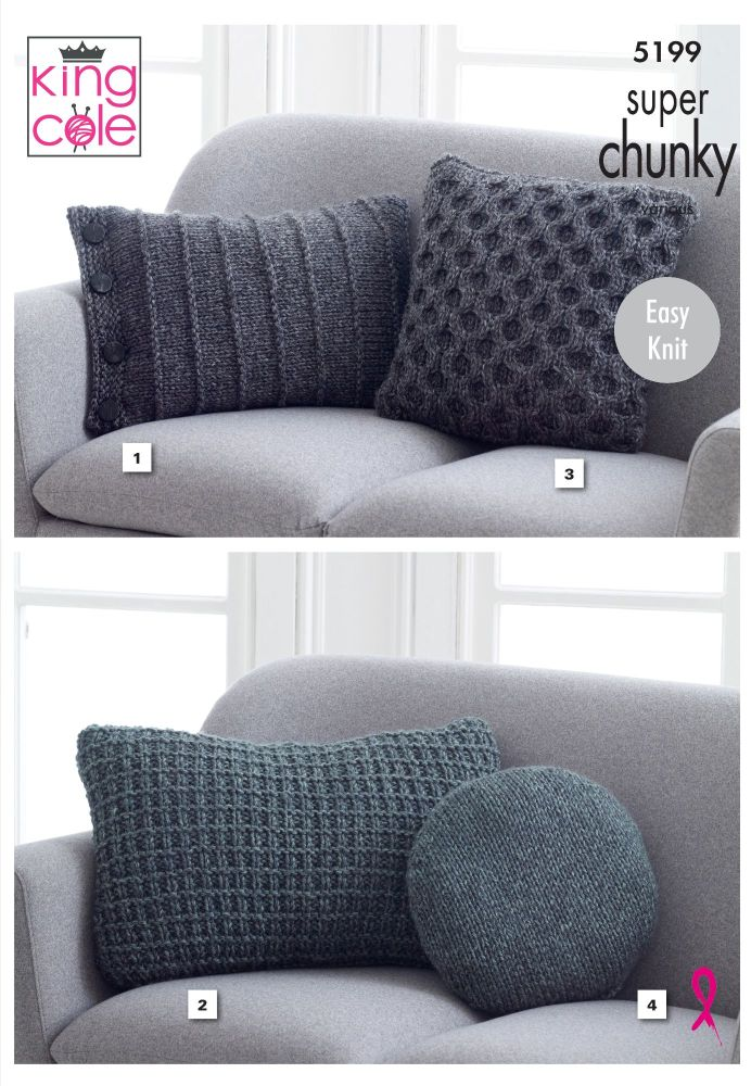 Cushions Knitting Pattern