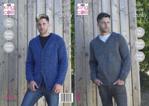 V Neck Cardigan & Sweater Knitting Pattern