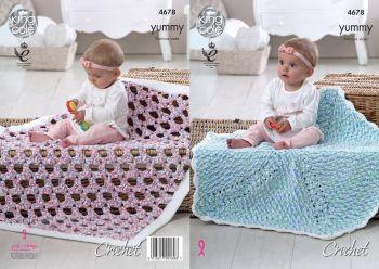 Blankets Crochet Pattern