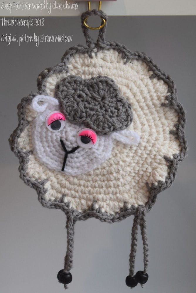 Sheep Potholder