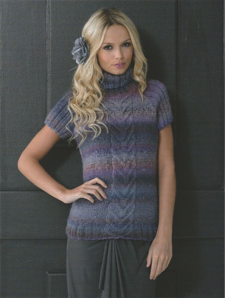 Short Sleeved Sweater Knitting Pattern