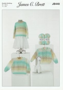 Baby Sweaters Knitting Pattern