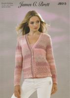 Lace Panel Cardigan Knitting Pattern