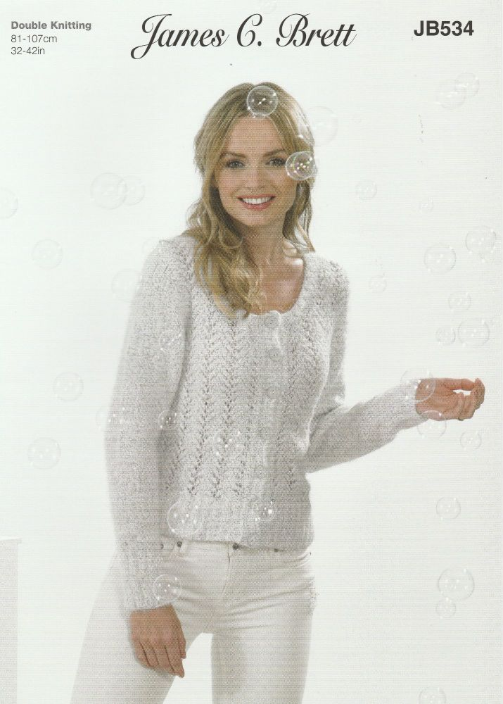 Lace Cardigan Knitting Pattern