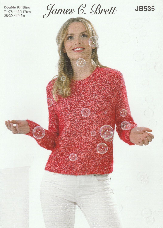 Reverse St-St Sweater Knitting Pattern