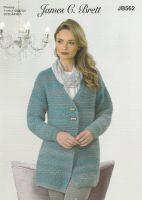 Longline Jacket Knitting Pattern
