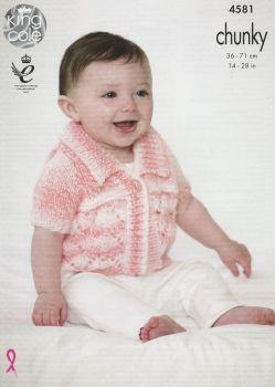 Baby Cardigans Knitting Pattern