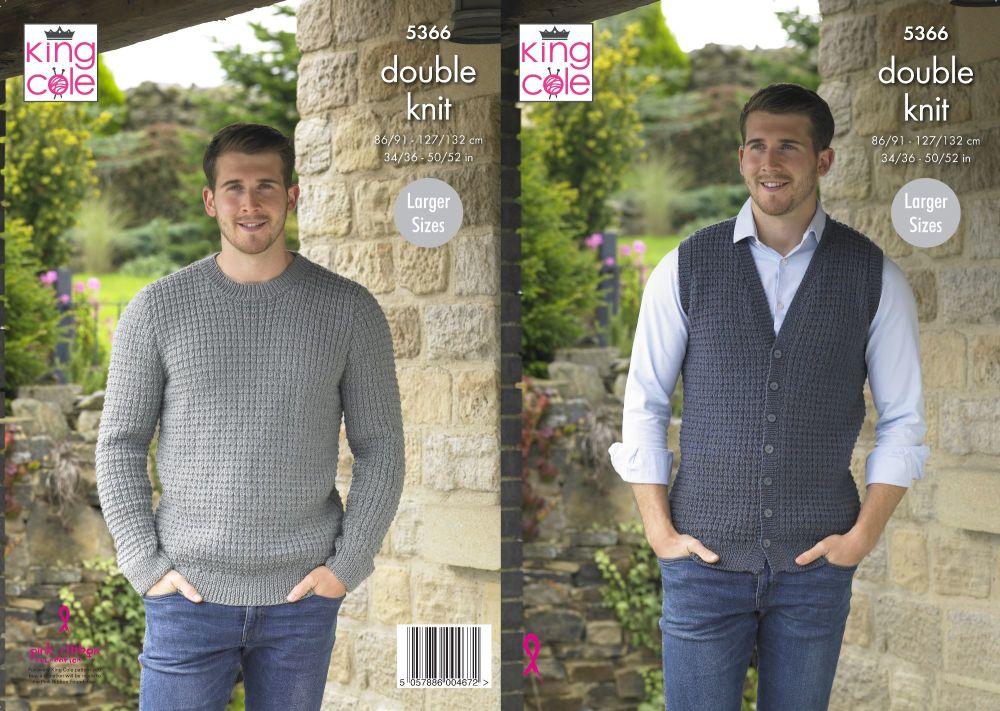 Waistcoat & Sweater Knitting Pattern