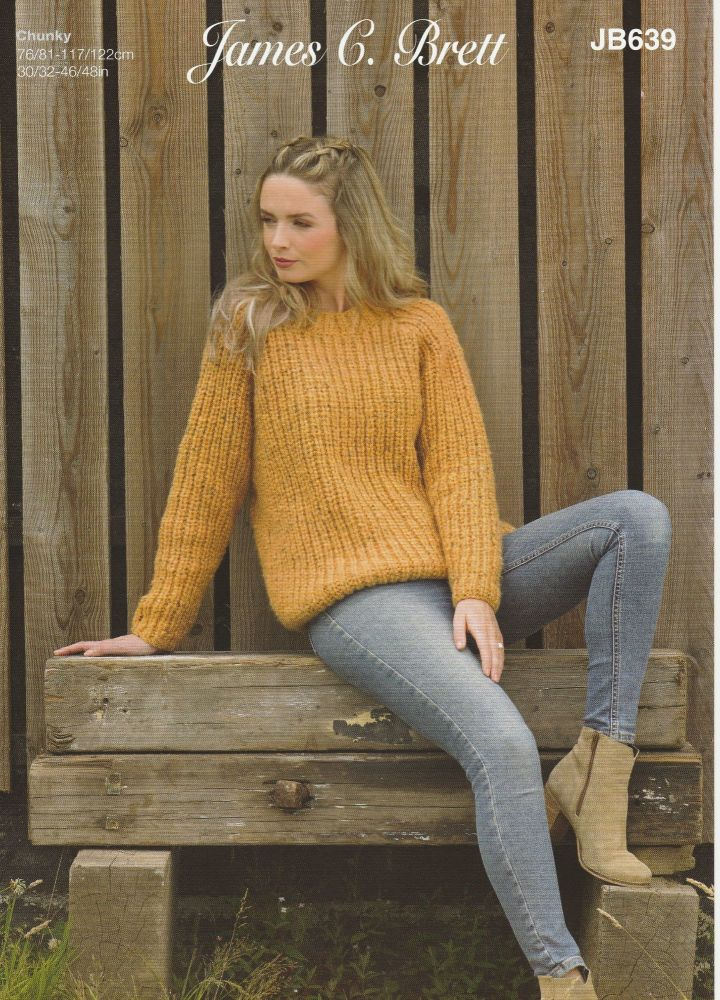 Sweater & Jacket Knitting Pattern