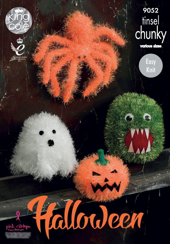 Halloween Monsters Knitting Pattern