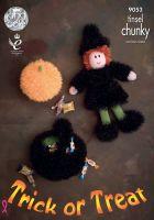 Tinsel Halloween Knitting Pattern