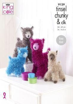 Alpaca in Tinsel Knitting Pattern