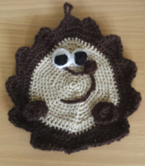 Hedgehog Pan Holder