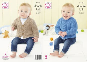 Babies Sweater & Jacket Knitting Pattern