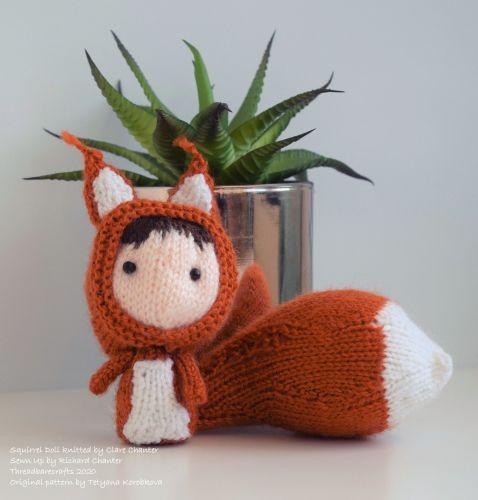 Squirrel Doll