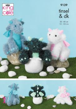 Baby Dragons Knitting Pattern