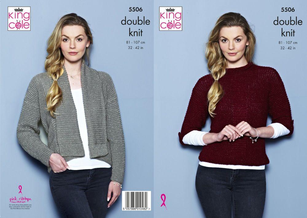 Glitz Cardigan & Sweater Knitting Pattern