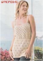 Floral Dress Knitting Pattern