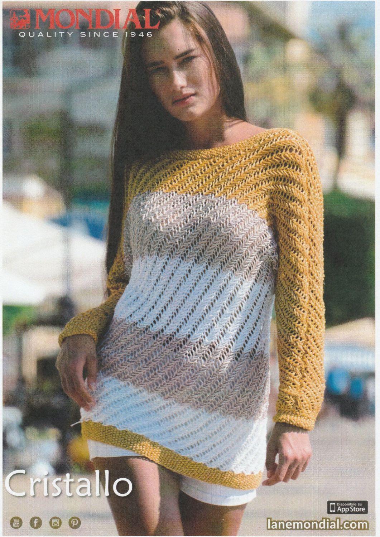 Cristallo Sweater Knitting Pattern