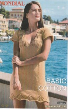 Leaf Stitch Dress Knitting & Crochet Pattern