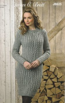 Aran Sweater/Dress Knitting Pattern