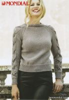 Hazelnut Pullover Knitting Pattern