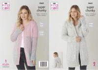 Super Chunky Jackets Knitting Pattern