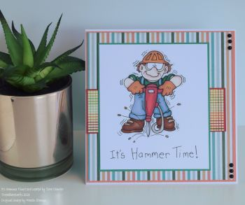 It's Hammer Time Handmade Card