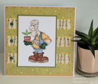 Tool Shed Ted Handmade Card