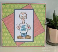 World's Best Dad Handmade Card