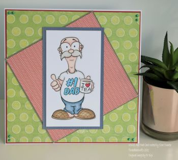 World's Best Dad Handmade Card