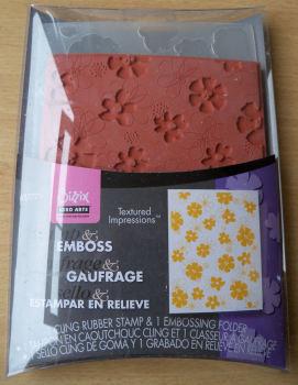 Sizzix Stamp & Emboss Mixed Flower Set