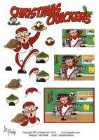 Christmas Preperations SBS Decoupage Sheet