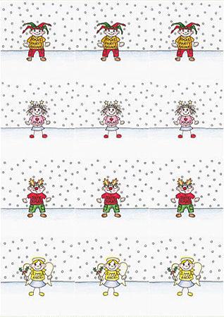 Tiny Mixed Christmas 2 Decoupage Sheet