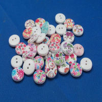 Printed Design Buttons Pack of 10