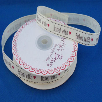Baked with ♥ Grosgrain Ribbon