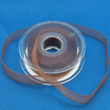 Dark Brown Super Sheer Ribbon