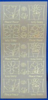 Peel Offs - Flower Frames