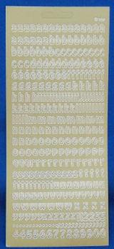 Peel Offs - Lower Case Letters