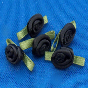 Pinflair Ribbon Roses Pack of 10