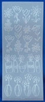 Peel Offs - Single Flowers
