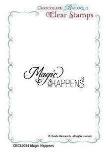 Magic Happens Clear Stamp